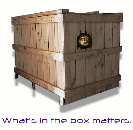 What's in the box matters